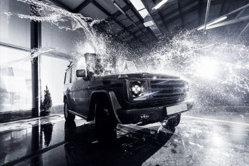 lavage de voiture
