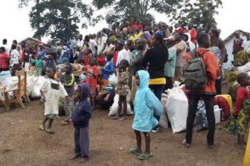 Les troupes d'élite camerounaises lutte contre la Covid19